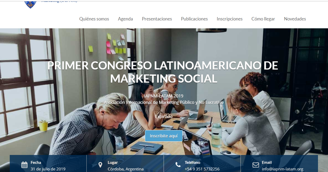 Argentina: Congreso de Marketing Social