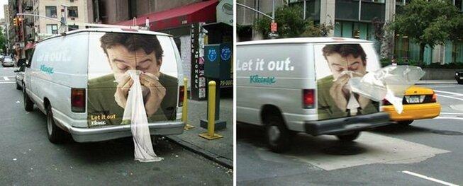 campañas de Kleenex