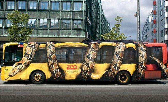 Street marketing en autobuses
