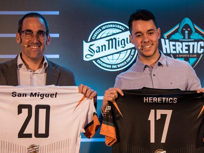patrocinadores de esports en España: San Miguel