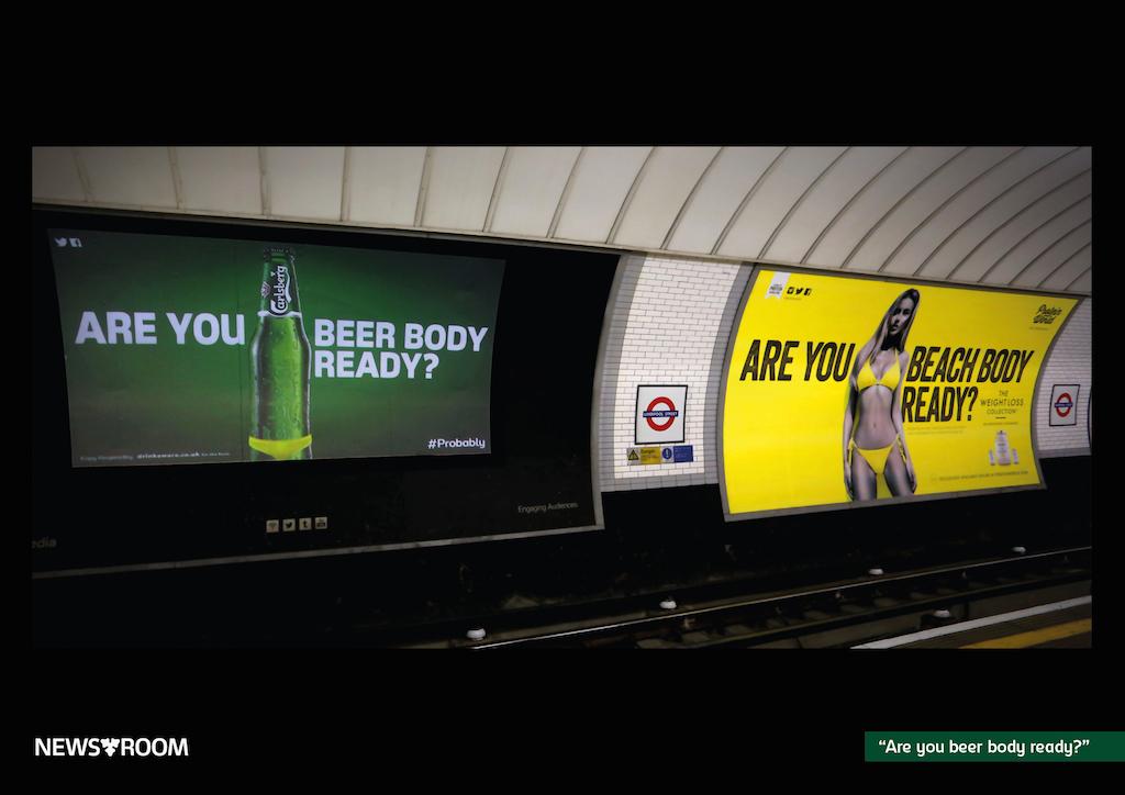 Cartel beer body Carlsberg