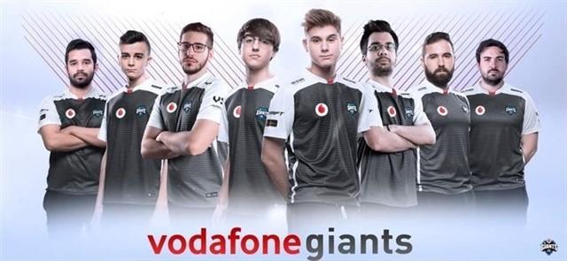 patrocinadores de esports en España: Vodafone