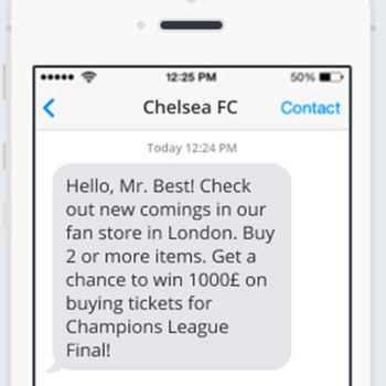 SMS Marketing para el sector deportivo