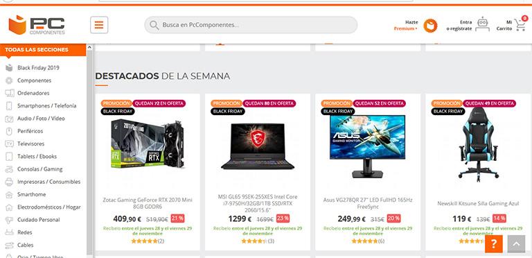 ecommerce que más venden en España