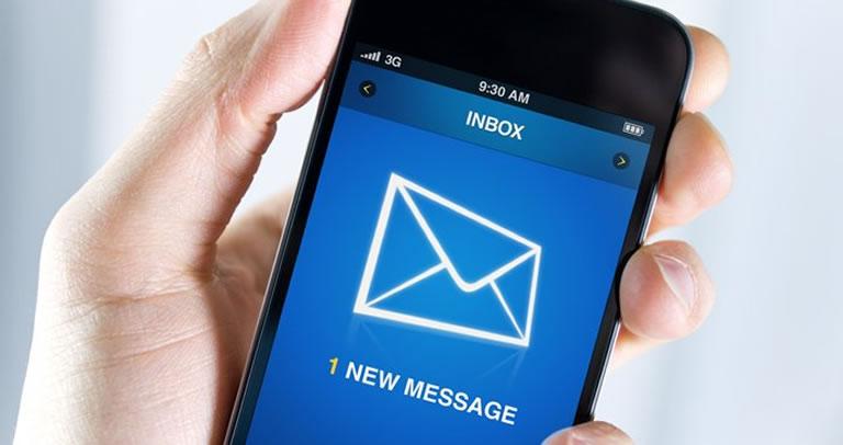 email en smartphones