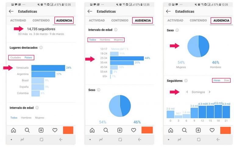 herramientas para community managers: Instagram stats