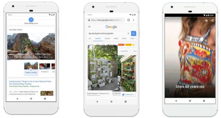 Google Memories, las stories de Google Fotos