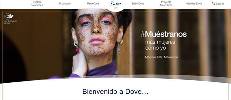 blogs de marcas que trabajan el branded content: Dove