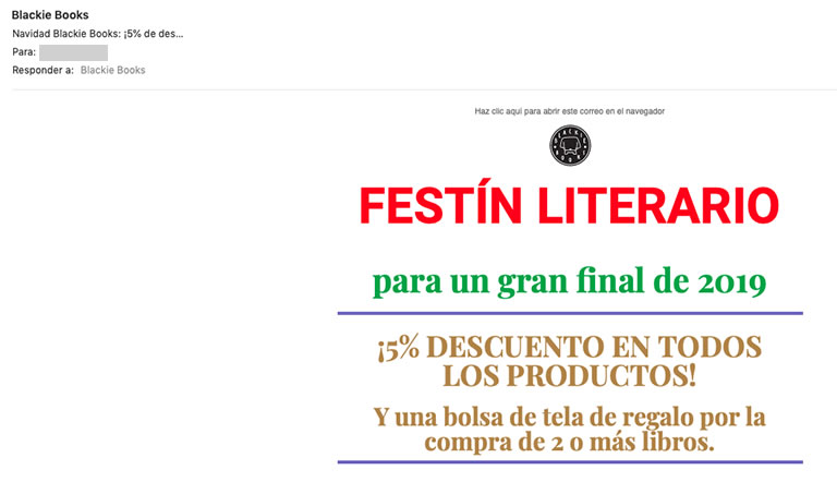 Email Marketing para Navidad