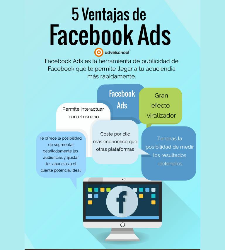 Ventajas de publicitarse con Facebook Ads