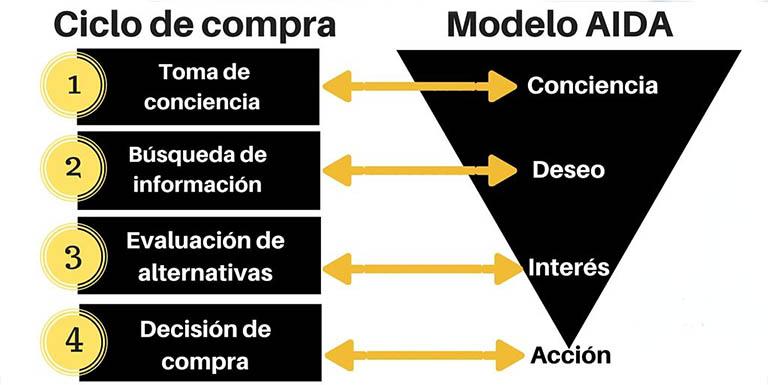 Fases del ciclo de compra