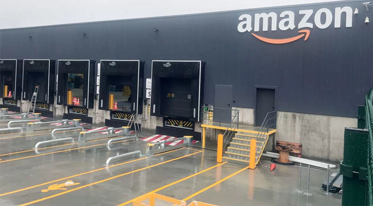 Países de Latam que más compran en marketplaces: Almacén logístico de Amazon
