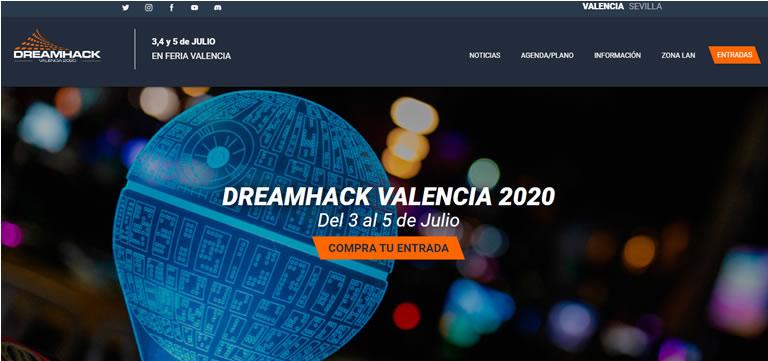 Eventos de esports & gaming en España en 2020: Dreamhack