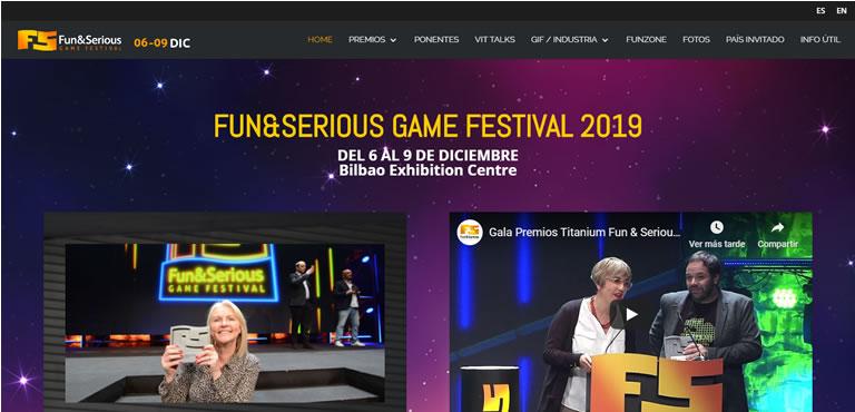 Eventos de esports & gaming en España en 2020: Fun and Serious Games Festival