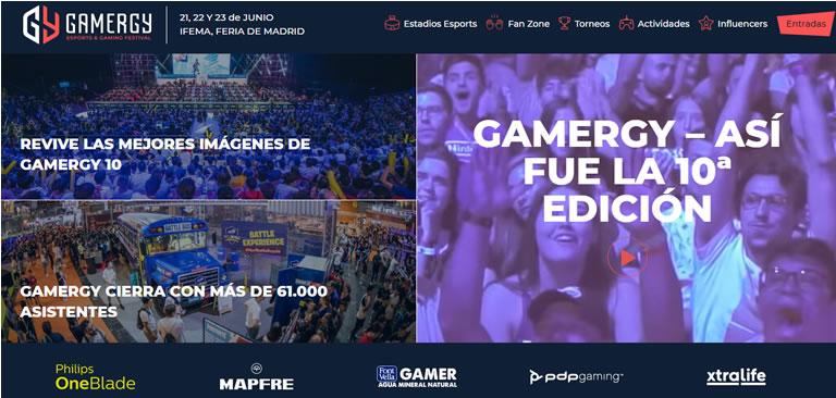 Eventos de esports & gaming en España en 2020: Gamergy