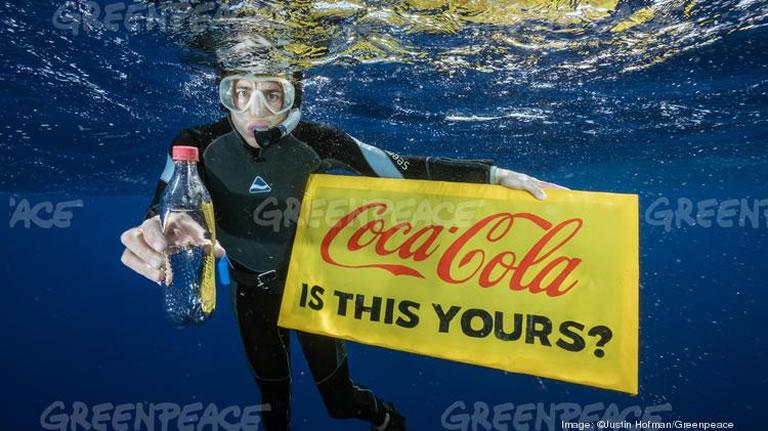 Marketing ecológico: Greenpeace Vs Coca Cola