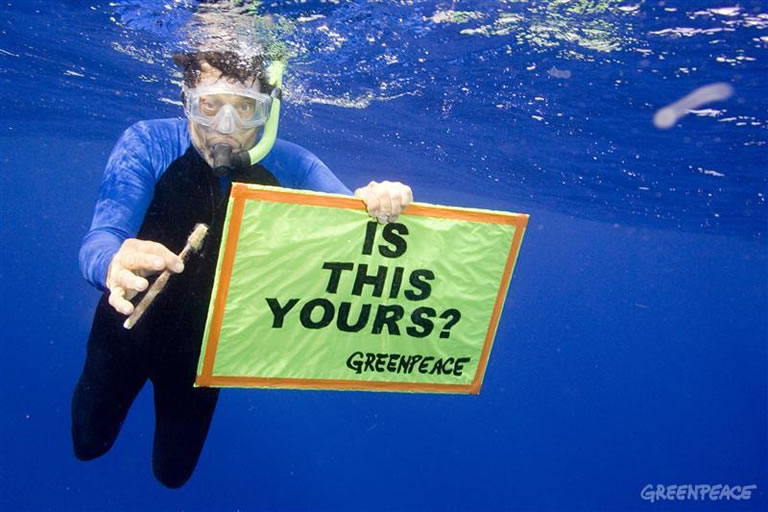 Marketing ecológico de Greenpeace