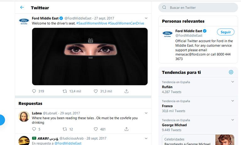 ejemplos de newsjacking: Ford