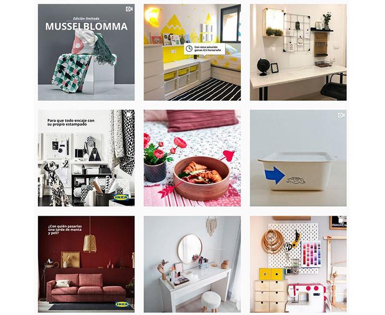 Instagram de IKEA