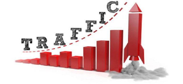 fuentes de tráfico según la temática de las webs