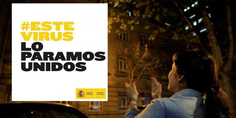 Gobierno de España: campaña contra el coronavirus