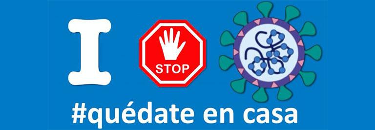 acciones de marketing en tiempos del coronavirus: #Quedateencasa. El mensaje de optimismo