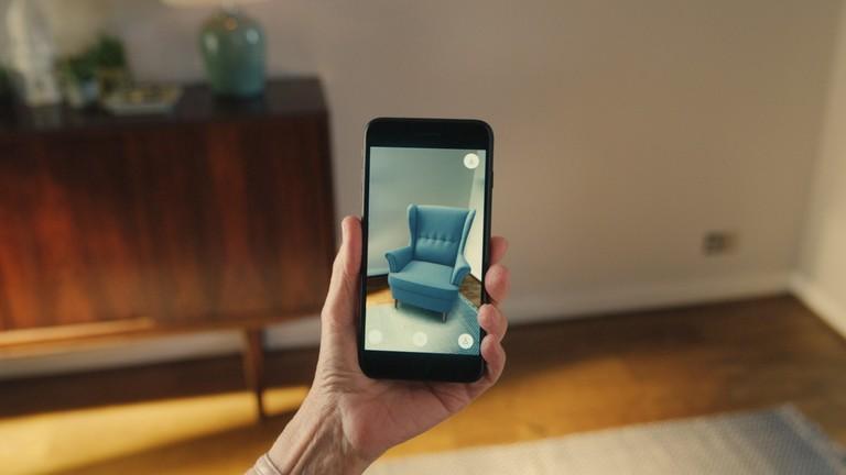 Imágenes de producto en 3D y AR en Google: Realidad aumentada