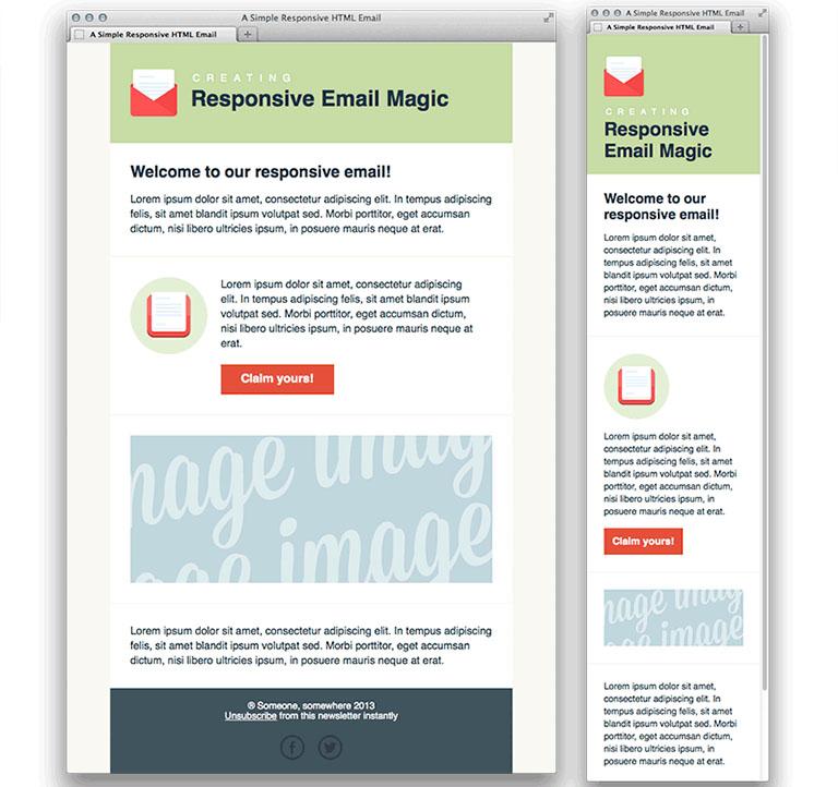 Qué es el EDM marketing: correos responsive