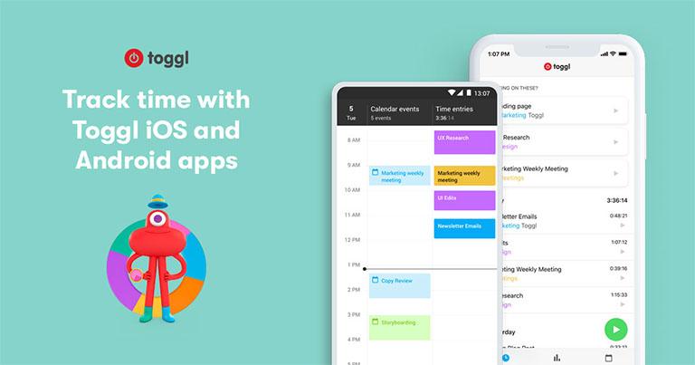 Toggl: control de horarios y tareas
