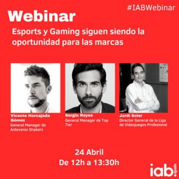 webinar: Esports y Gaming siguen siendo la oportunidad para las marcas