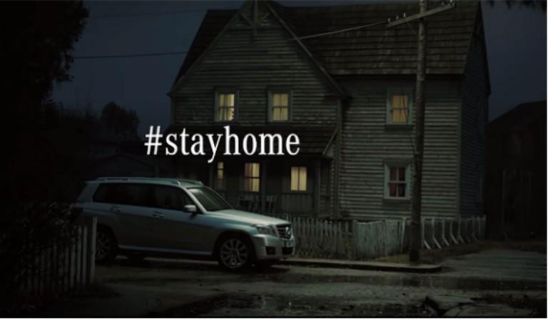Mercedes Benz #Stayhome