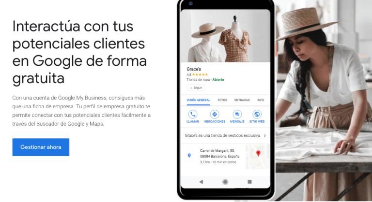 Google My Bussines para que tus clientes te encuentren