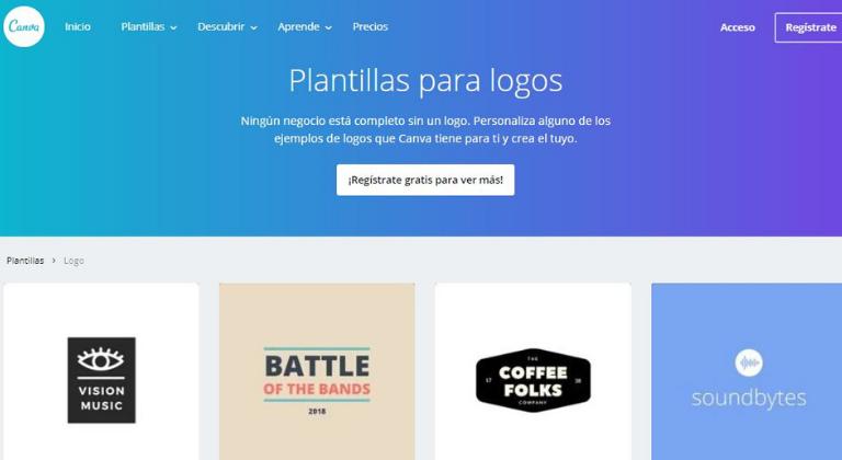 Diseña el logo de tu marca con Canva