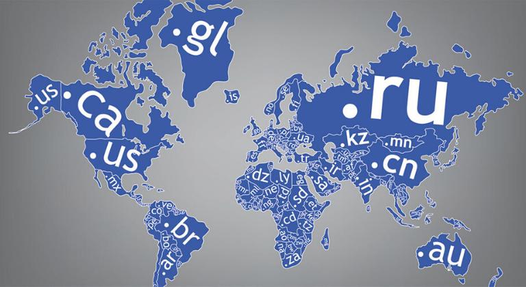 Dominios diferentes idiomas