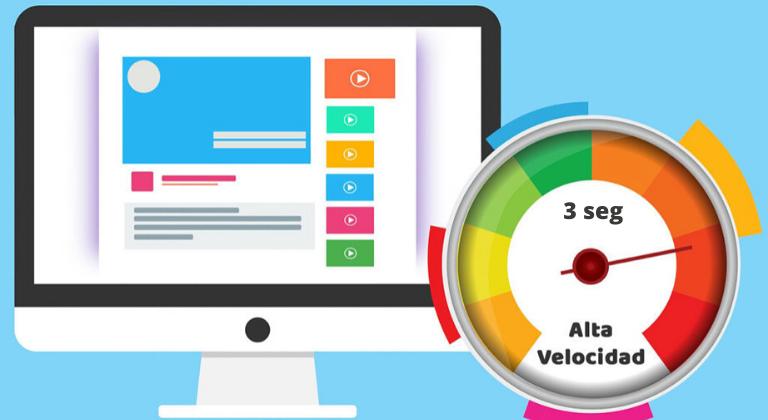 Tiempo ideal de velocidad de carga de tu sitio web