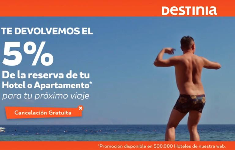 Destinia Campaña verano