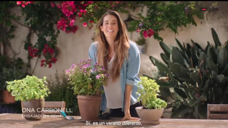campañas publicitarias para el verano: ISDIN