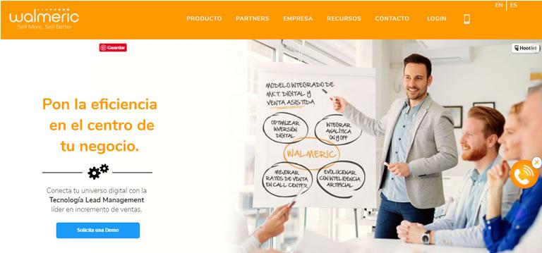 herramientas de tracking en marketing: Walmeric