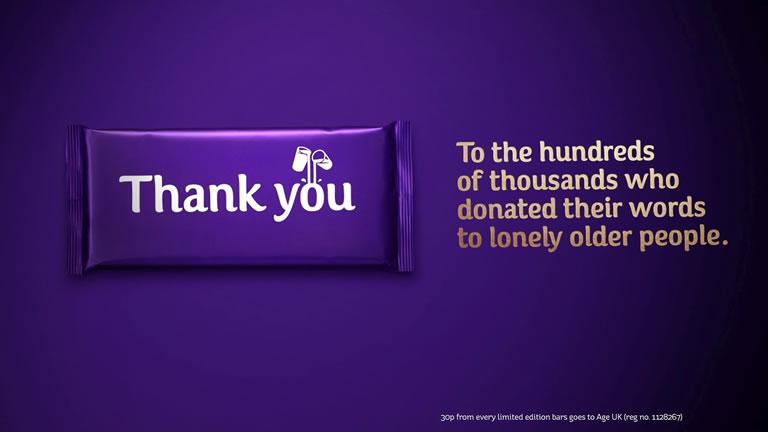 marketing de contenidos para causas sociales: Cadbury's