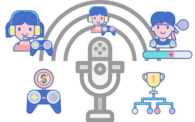 Podcast sobre esports