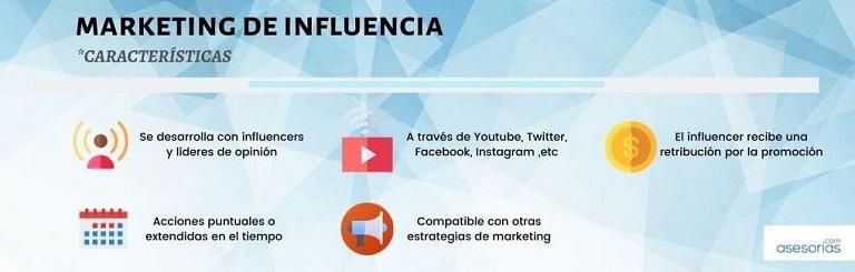 Características de ser un influencer