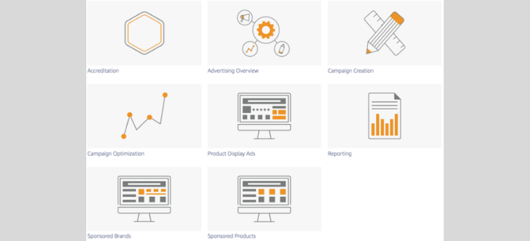 Aprender a utilizar Amazon Advertising Learning Console