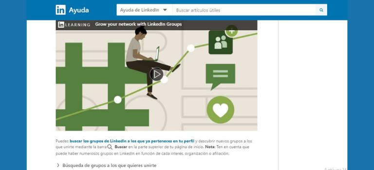 Función de LinkedIn Group