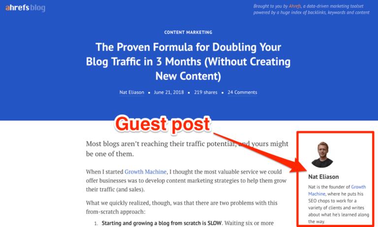 Guest Bloggins