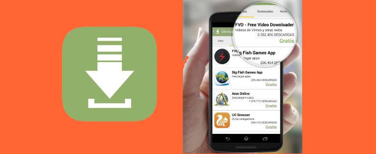 Campañas de descargas de apps