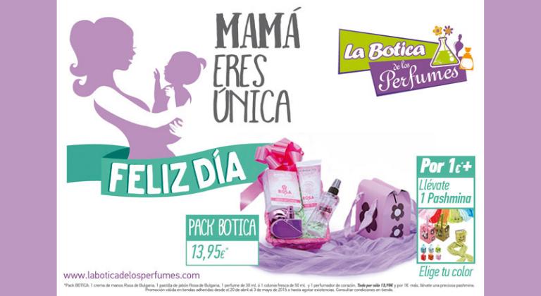 Promoción por el día de la madre