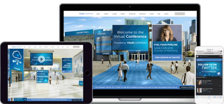 Plataforma para eventos online: INXPO