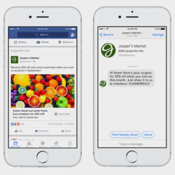 campañas en Facebook Messenger