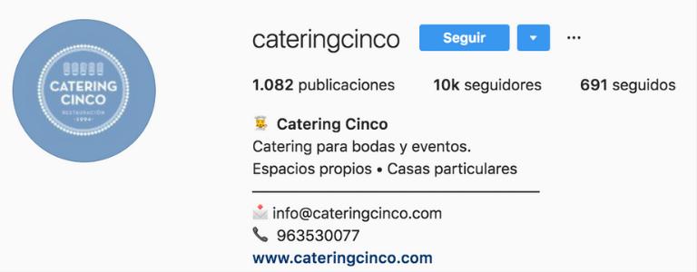 Nombre público en el perfil Ig