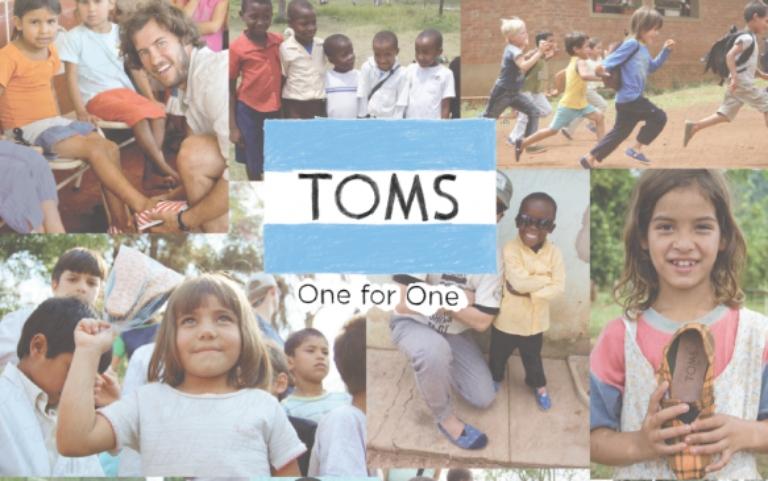 Ejemplos de RSC: TOMS – Campaña One to One